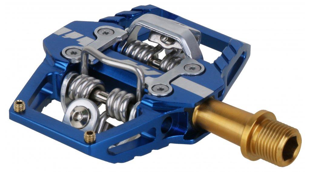 HT Components DH T1 Titan Click-Pedale royal blue