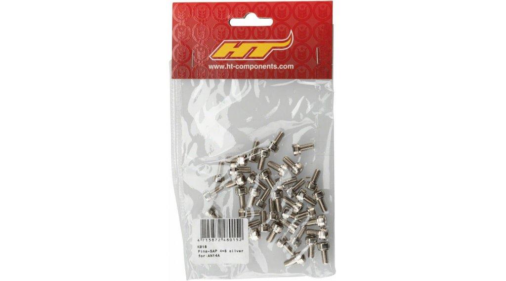 HT Components SAP Ersatzpins M4x8mm für AN14A silver