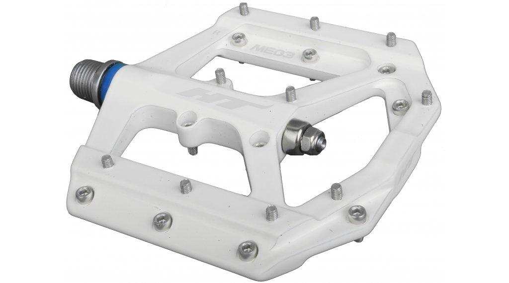 HT Components ME 03 Cromo Plattform-Pedale white