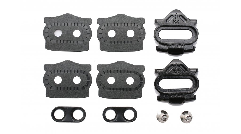 HT Components X1F Cleat Kit 8° floating mit 8° Freiwinkel