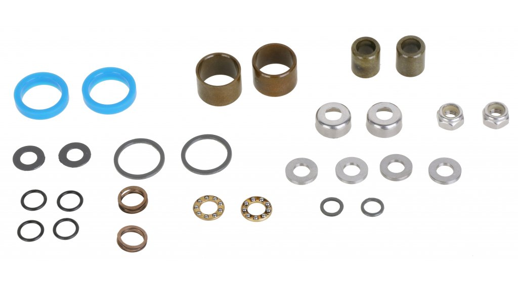 HT Components Rebuild Kit 脚踏-轴承组 完整的 适用于 EVO+ ab 2016/ME02/ME03/ME05/AE03/AE05
