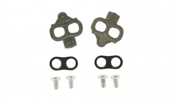 Look X-Track pedal plates 6°  freedom of movement silver