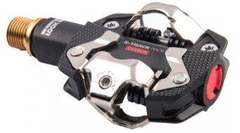 Look pedali X-Track Race Carbon titanio MTB- pedali nero