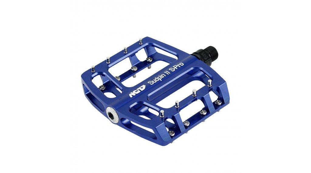 NC-17 Sudpin II S-Pro CNC Plattform-Pedale blau