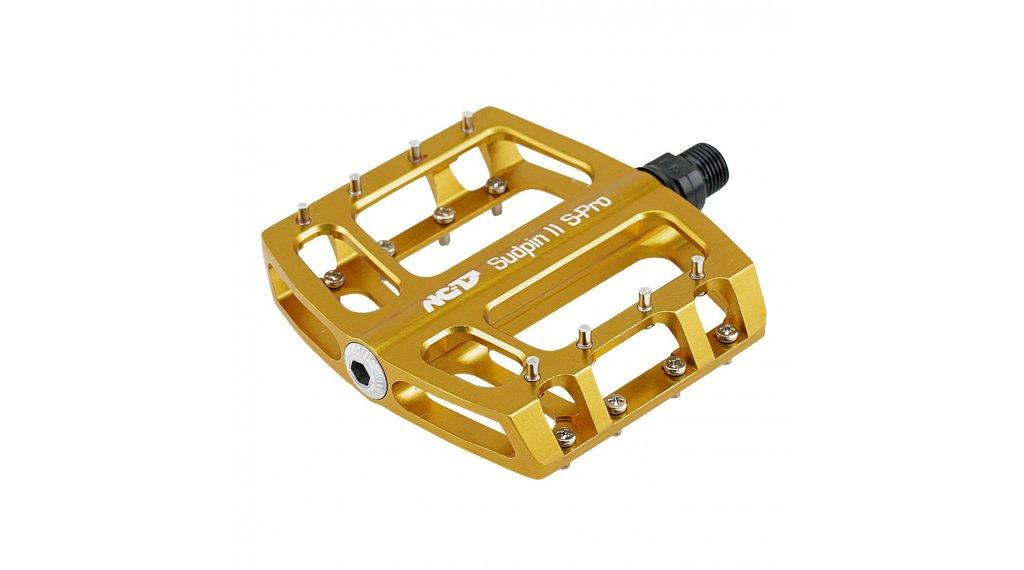 NC-17 Sudpin II S-Pro CNC Plattform-Pedale gold