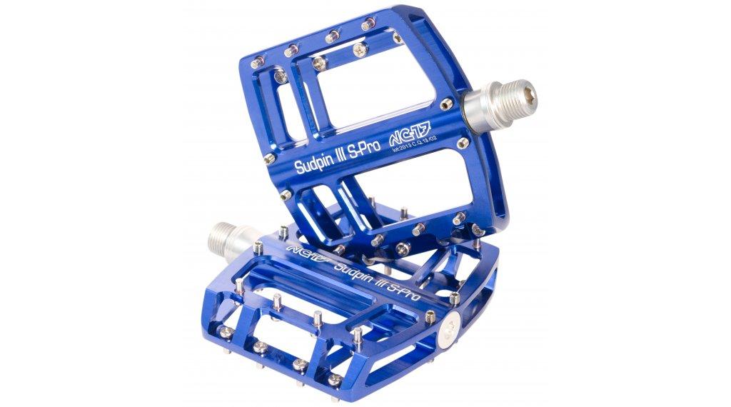 NC-17 Sudpin III S-Pro CNC plataforma-pedal rodamiento de precisión azul