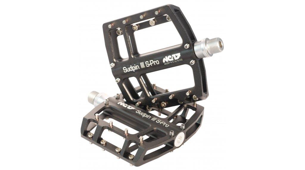 NC-17 Sudpin III S-Pro CNC plataforma-pedal rodamiento de precisión negro(-a)