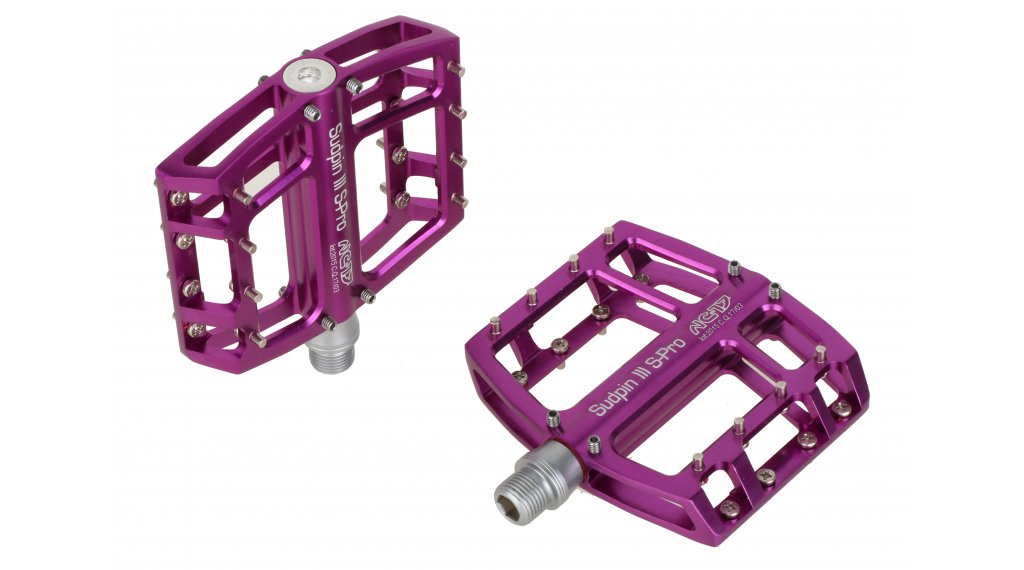 NC-17 Sudpin III S-Pro CNC plataforma-pedal rodamiento de precisión purple