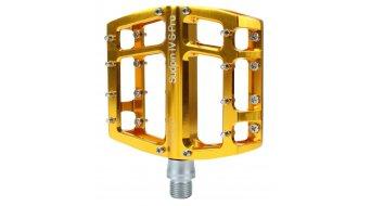 NC-17 Sudpin IV S-Pro CNC-Plattform Pedal gold Präzisionslager