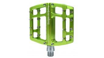 NC-17 Sudpin IV S-Pro CNC-Plattform Pedal grün Präzisionslager