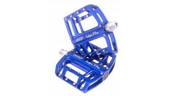 NC-17 Sudpin II Pro CNC-plataforma pedal azul, rodamiento cónico