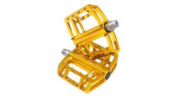 NC-17 Sudpin II Pro CNC-plataforma pedal dorado(-a), rodamiento cónico