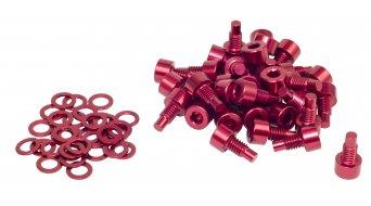 NC-17 替换pins CNC AL-7075 M4x8mm 32个 红色