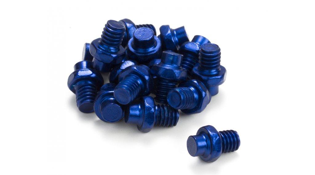 Reverse replacement pins for Escape pedals (16 pcs.) blue