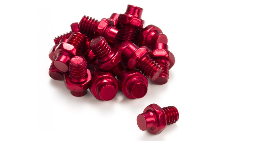 Reverse pernos de recambio para Escape pedales (16 uds.) rojo