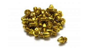 Reverse acciaio pins di ricambio M4x4mm (24pz.) oro
