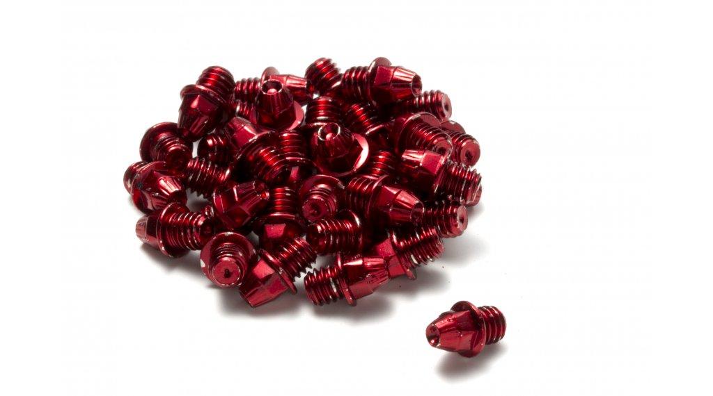 Reverse acciaio pins di ricambio M4x4mm (24pz.) rosso
