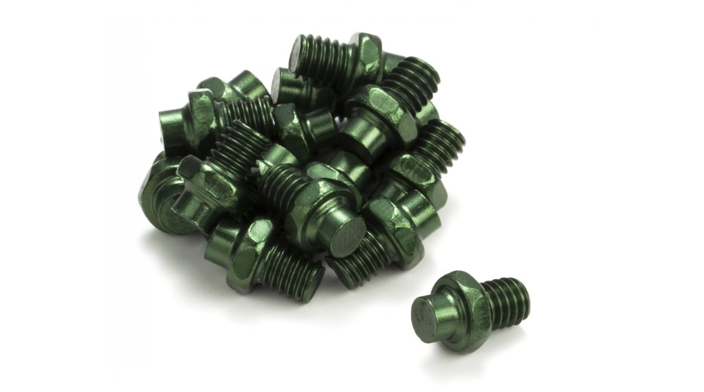 Reverse replacement pins for Escape pedals (16 pcs.) green