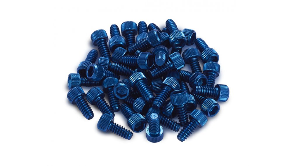 Reverse Alu Ersatzpins für Escape Pro + Black One Pedal (1Stk) dark blue