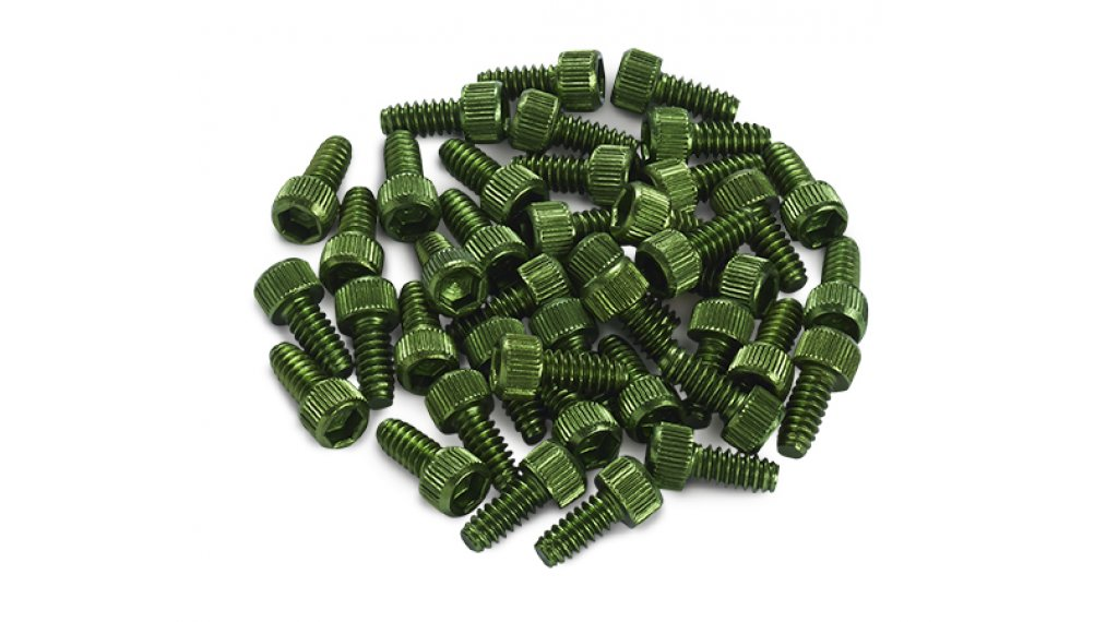 Reverse Alu Ersatzpins für Escape Pro + Black One Pedal (1Stk) dark green