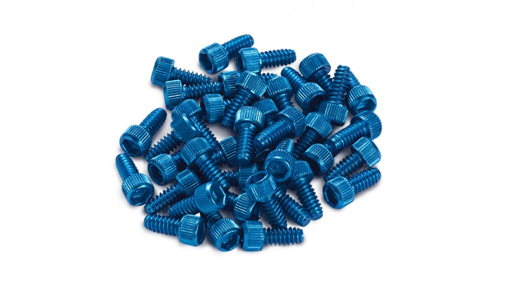 Reverse Alu Ersatzpins für Escape Pro + Black One Pedal (1Stk) light blue