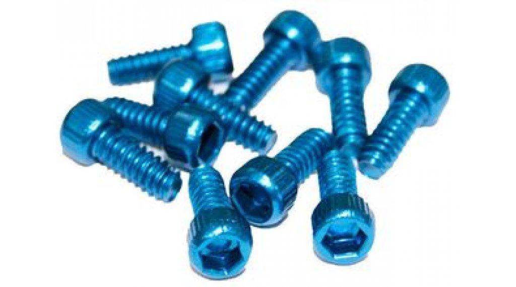 Reverse Alu 替换pins US Size Pins 11mm 适用于 BlackOne 和 Escape PRO-脚踏 (10个) dark-blue