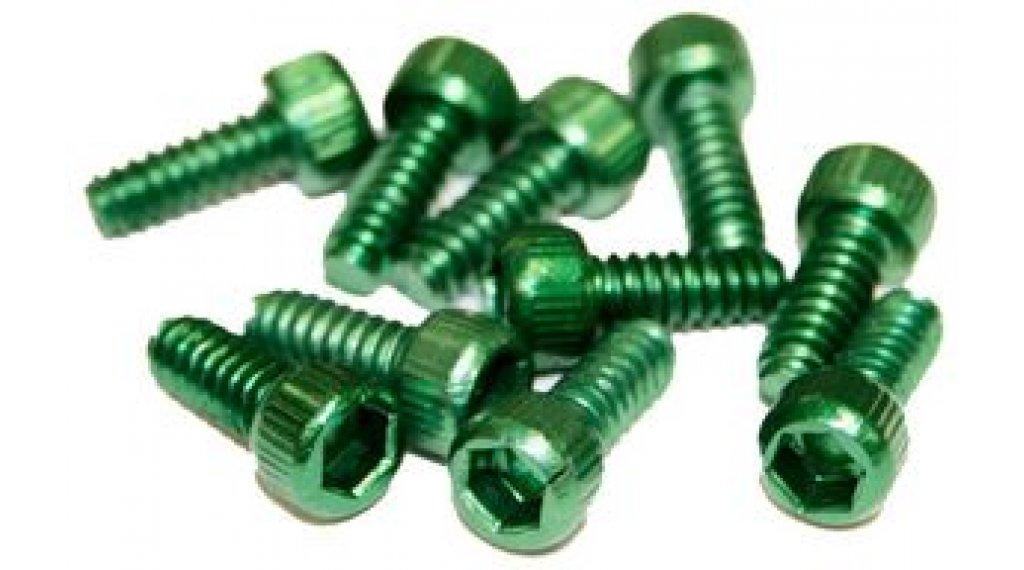 Reverse Alu 替换pins US Size Pins 11mm 适用于 BlackOne 和 Escape PRO-脚踏 (10个) dark-green