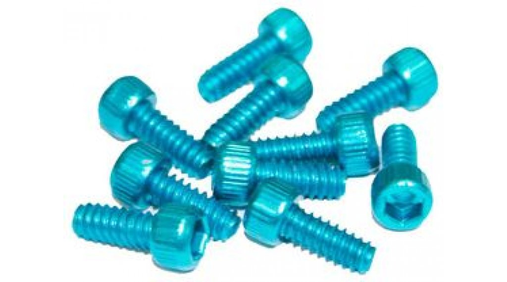 Reverse Alu 替换pins US Size Pins 11mm 适用于 BlackOne 和 Escape PRO-脚踏 (10个) light-blue