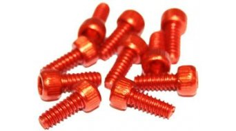 Reverse Alu 替换pins US Size Pins 11mm 适用于 BlackOne 和 Escape PRO-脚踏 (10个) 橙色