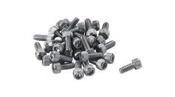Reverse Stahl Ersatzpins für Escape Pro. Black One silber