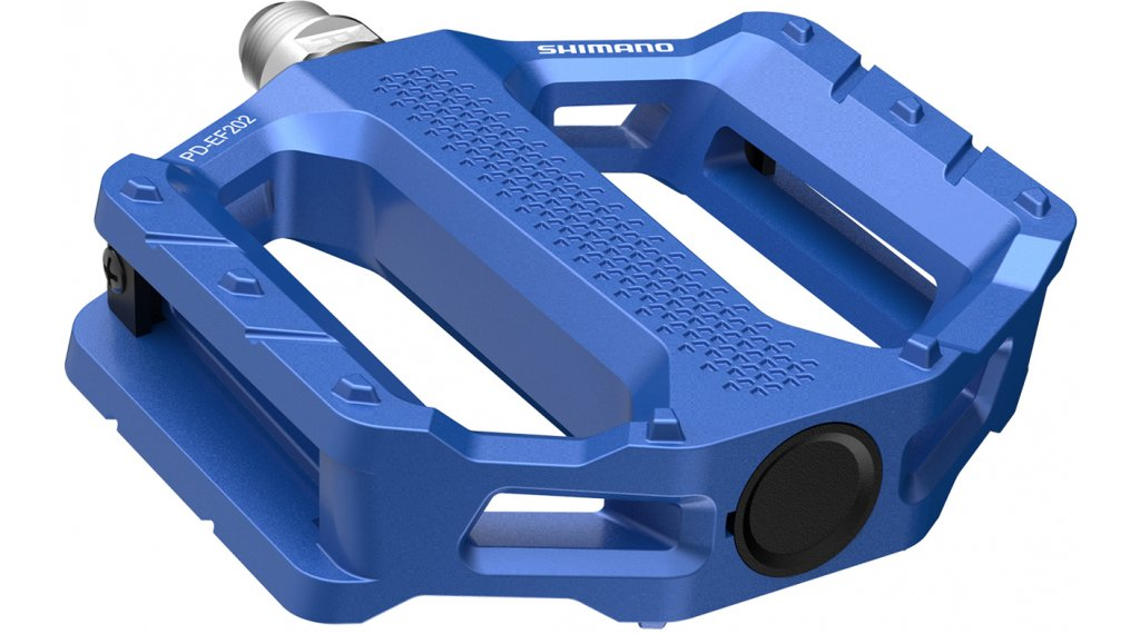 Shimano PD-EF202 平板脚踏 蓝色