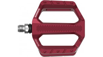 Shimano PD-EF202 平板脚踏 红色