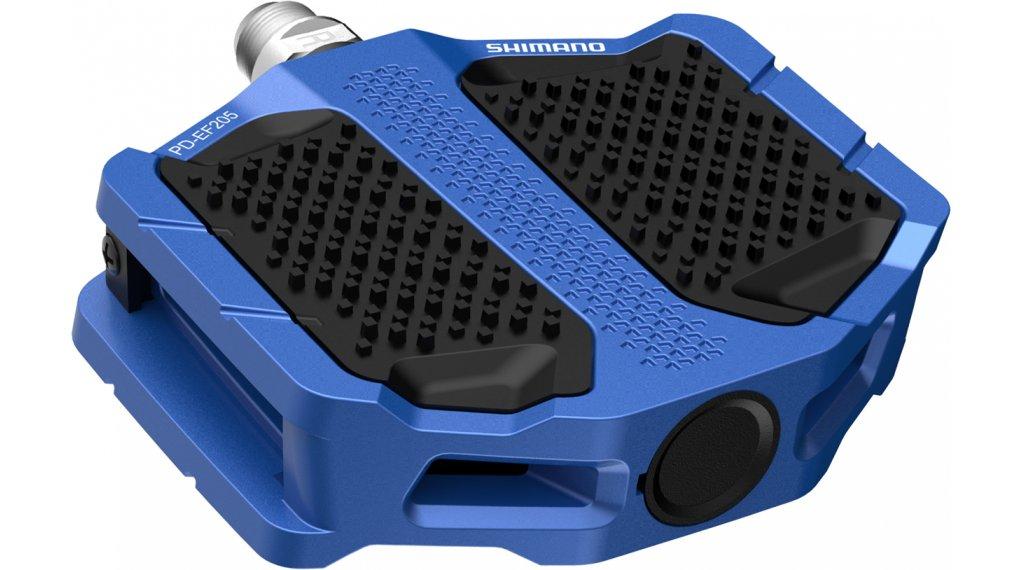 Shimano PD-EF205 Plattform-Pedale blau