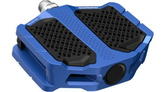 Shimano PD-EF205 pedali flat blu