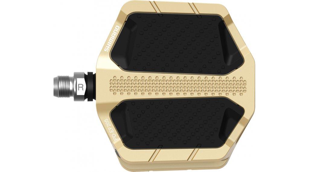 Shimano PD-EF205 Plattform-Pedale gold