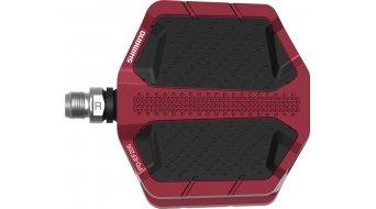 Shimano PD-EF205 pedali flat rosso