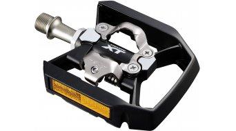 Shimano XT PD-T8000 Trekking SPD/plataforma pedales negro(-a)