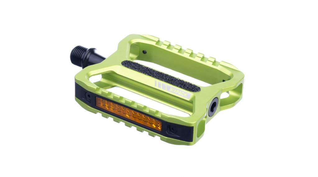 Sixpack Network 3.0 Pedale electric green