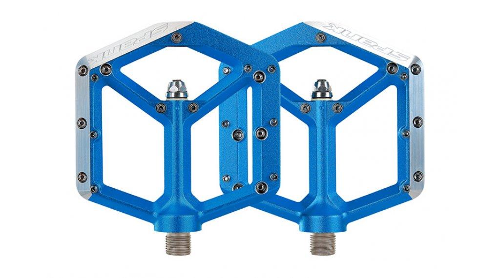 Spank Spike Plattform-Pedale blue