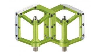 Spank Spike Plattform-Pedale emerald green