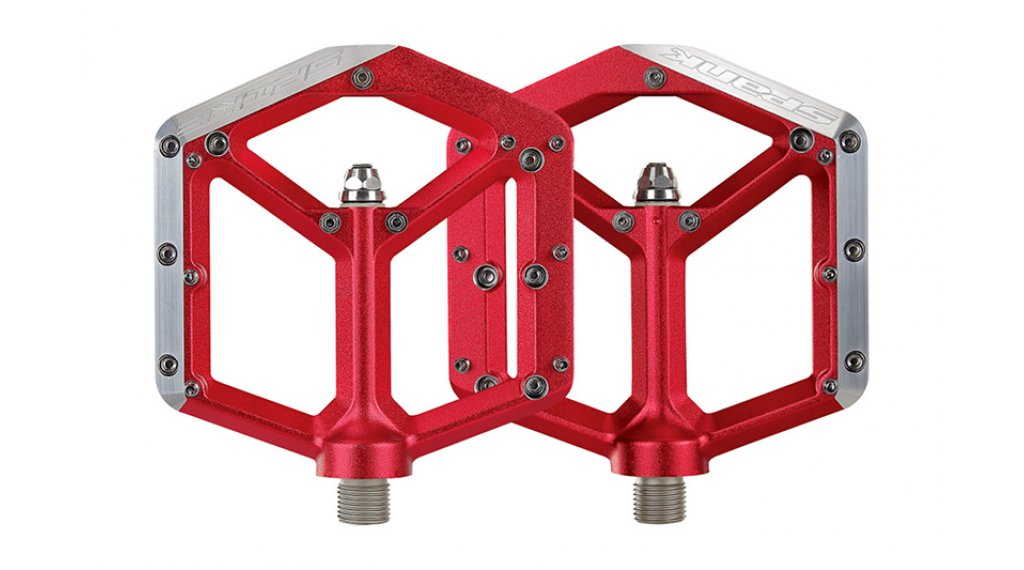 Spank Spike Plattform-Pedale red