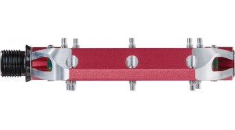 Spank Spoon 100 Plattform-Pedale red