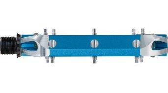 Spank Spoon 110 Plattform-Pedale blue