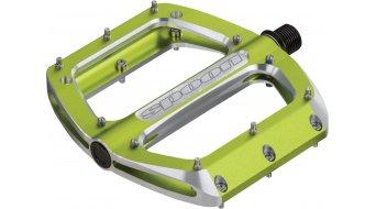 Spank Spoon 110 Plattform-Pedale emerald green