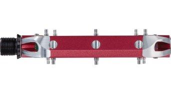 Spank Spoon 110 Plattform-Pedale red