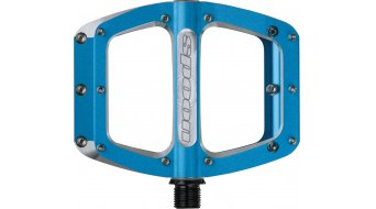 Spank Spoon 90 Plattform-Pedale blue