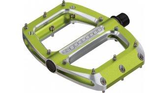 Spank Spoon 90 Plattform-Pedale emerald green