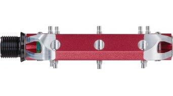 Spank Spoon 90 Plattform-Pedale red