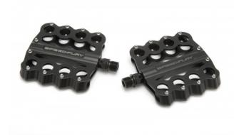 Speedplay Brass Knuckles Cr-Mo MTB-Plattformpedale schwarz
