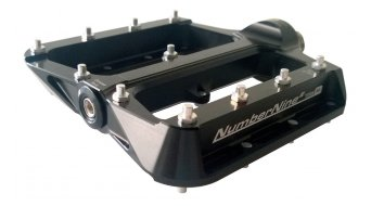 Syntace NumberNine 2 Titan MTB Plattform-Pedale Gr. M black